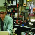 戴嘉昌的品牌主打工業元素,十分有特色。
