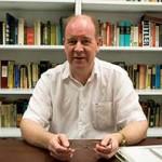 港大歷史系副教授管沛德表示,外界一向認為校外委員的專業能力讓他們較懂管治大學。(黃文雋攝)