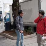 徐子見十分受街坊歡迎,常透過閒談了解居民需要。 (鄭靖而攝)
