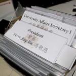 一年任期已過,馮敬恩亦言學生會會長一職很難做。(陳穎慧攝)