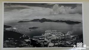 南眺華富邨,攝於1968年。(香港歷史檔案館提供)