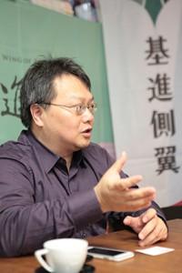 何澄輝指基進側翼亦曾聲援香港的雨傘運動。