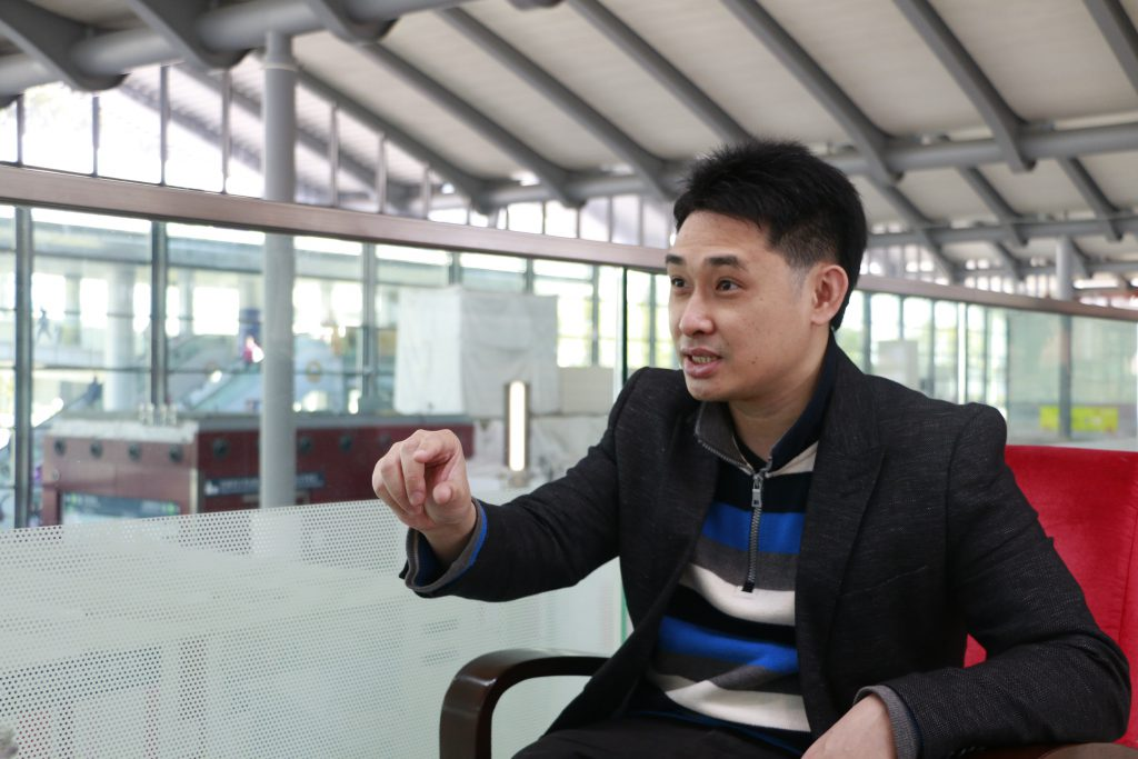 方志恒認為,北京近年的干預,令人覺得香港本土獨特性正被侵蝕,相信本土思潮短期內不會逆轉。(蔡惠嫻攝)