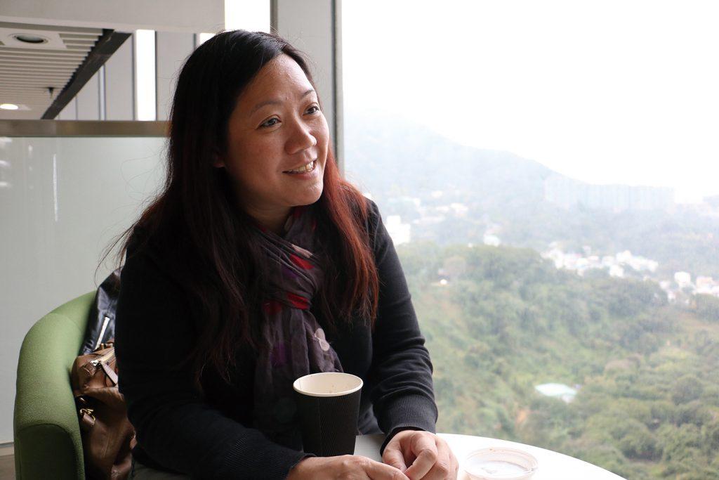 李淑儀指自己經歷回歸和六四,希望為下一代維護香港的制度,認為這是一個責任。(陳家怡攝)