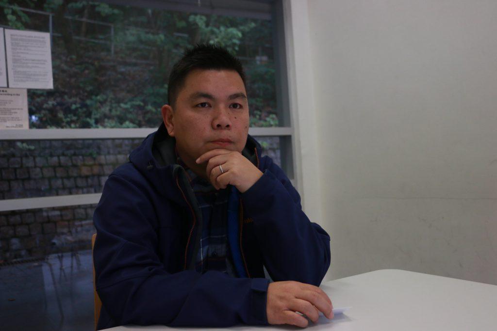 《十年》監製蔡廉明鼓勵有心人不要被眼前困難所限,繼續用心做自己想做的作品。(潘祖兒攝)