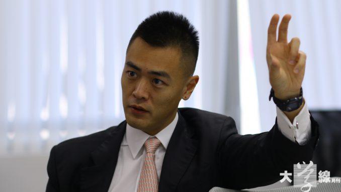 華人置業集團主席、青年事務委員會主席劉鳴煒。